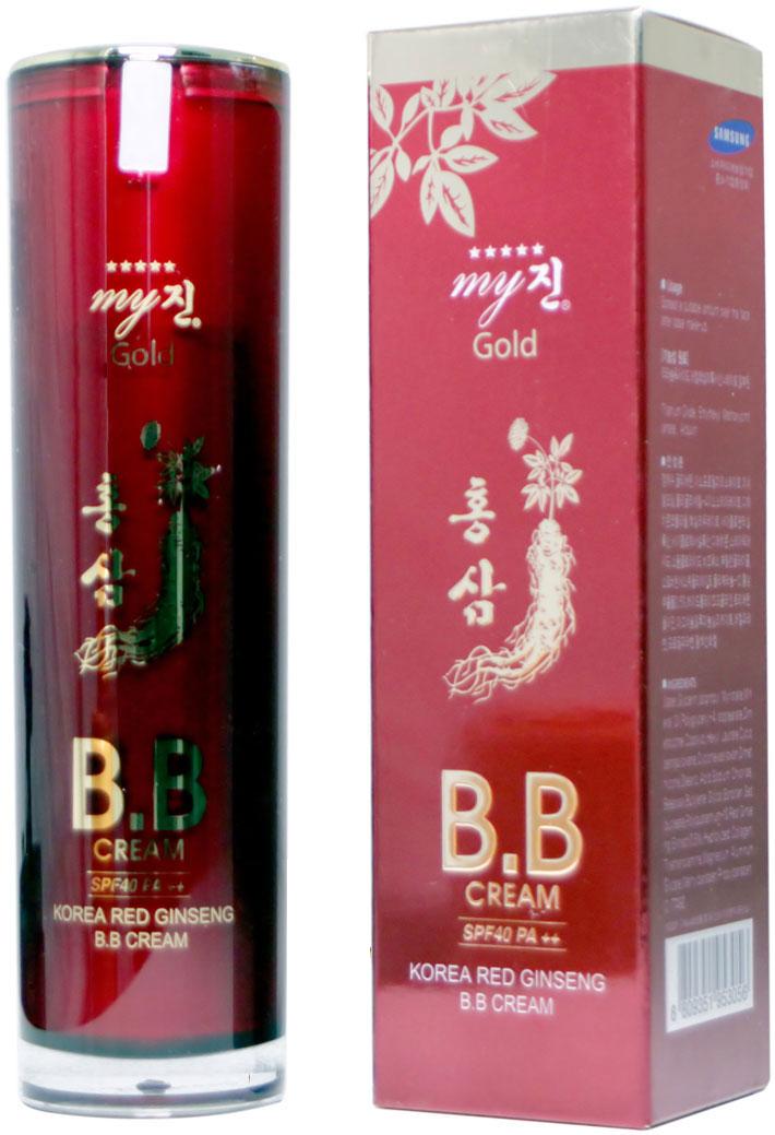 Kem sâm lót nền BB My Jin Gold 50ml - Hàn Quốc