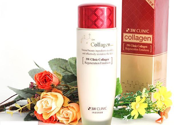 Kết quả hình ảnh cho nước hoa hồng 3w clinic collagen 150ml
