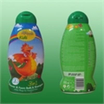 Sữa tắm gội toàn thân cho bé Alpi Fresh Kids 3in1 chai xanh