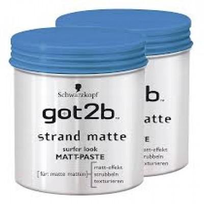 Sáp vuốt tóc Got2b Strand Matte - Đức