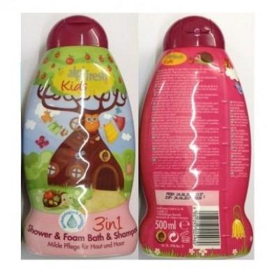 Sữa tắm gội toàn thân cho bé Alpi Fresh Kids 3in1