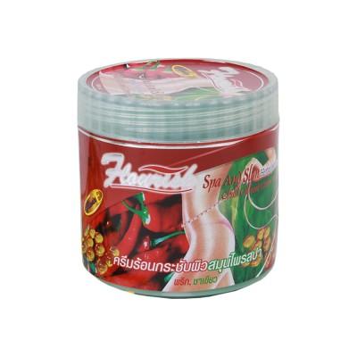 Kem thoa làm tan mỡ bụng Flourish 500ml tinh chất ớt