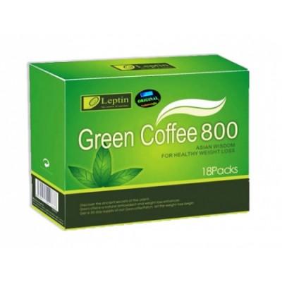 Trà giảm cân Green Coffe Mỹ hộp 18 gói
