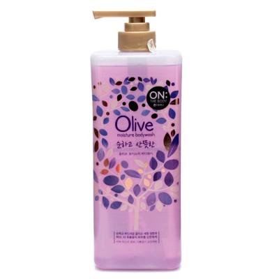 Sữa tắm dưỡng da On The Body Olive Moisture Bodywash 900g (Chai tím)