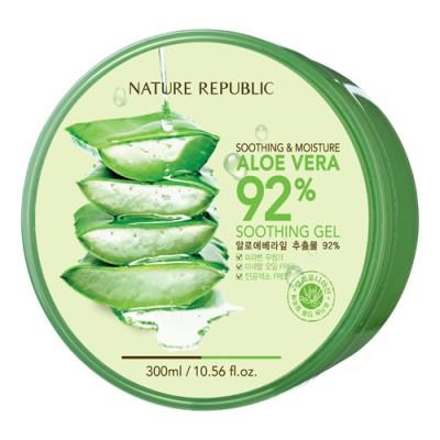 Gel lô hội đa năng Nature Republic Aloe Vera 92% Soothing Gel