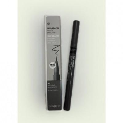 Bút dạ kẻ mắt TheFaceShop Ink Graffi Brush Pen Liner