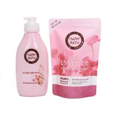 Sữa tắm Happy Bath Essence tinh chất hoa hồng - Hàn Quốc