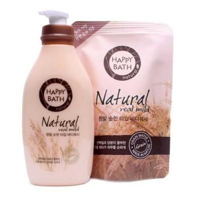 Sữa tắm Happy Bath Essence tinh chất mầm gạo  Hàn Quốc