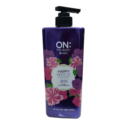Sữa tắm On The Body Happy Breeze 900ml Hàn Quốc