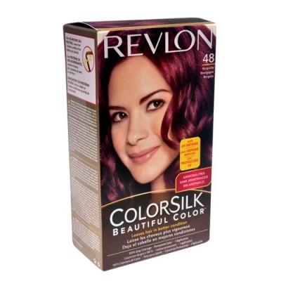 Thuốc nhuộm tóc Revlon Colorsilk Burgundy 48 Mỹ