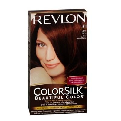 Thuốc nhuộm tóc Revlon Colorsilk 31 Dark Auburn Mỹ
