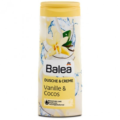 Kem tắm dưỡng ẩm trắng da Balea Vanille & Cocos 300ml