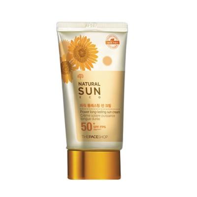 Kem chống nắng Natural Sun The Face Shop