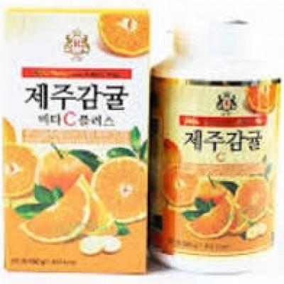 Viên Ngậm Vitamin C Nguyên Chất Đảo Jeju Hàn Quốc 500g