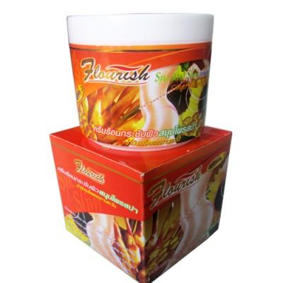 Kem thoa làm tan mỡ bụng Flourish 500ml tinh chất gừng