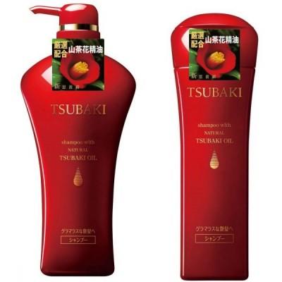 Bộ dầu gội Shiseido Tsubaki Shining (1 chai 550ml + 1 chai 220ml)