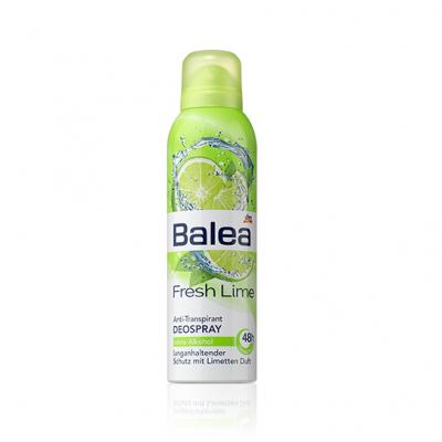 Xịt khử mùi toàn thân Balea Fresh Lime hương chanh - Đức