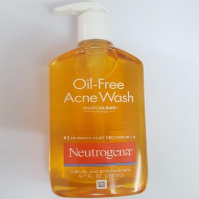 Sữa Rửa Mặt Dành Cho Da Mụn Neutrogena Oil-Free Acne Wash 269ml