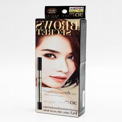 Chì kẻ mày cao cấp Mistine 3d brows' secret xách tay Thái Lan