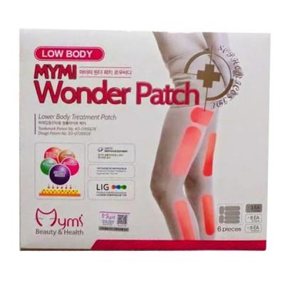 Miếng dán tan mỡ đùi thon gọn Mymi Wonder Patch Low Body hộp 6 miếng Hàn Quốc