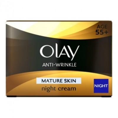 Kem dưỡng ẩm chống lão hóa đêm Olay Anti-Wrinkle Pro Vital Anti-ageing Moisturiser Night Cream 50ml