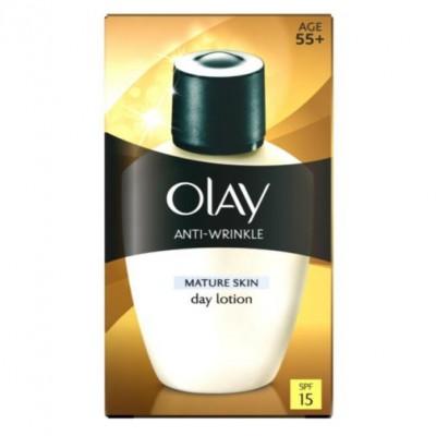 Kem chống lão hóa và chống nắng cao cấp Olay Anti-Wrinkle Provital Day Fluid For Mature Skin SPF15 100ml