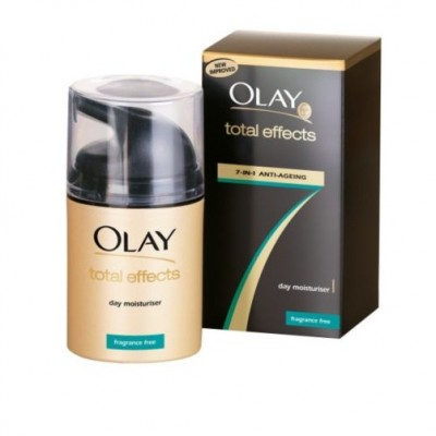 Kem dưỡng ẩm chống lão hóa 7 in 1 Olay Total Effects Day Moisturiser Fragrance Free 50ml
