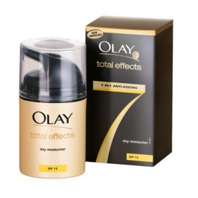 Kem chống lão hóa và chống nắng cao cấp Olay Total Effects 7in1 Anti-Ageing Moisturiser SPF15 50ml