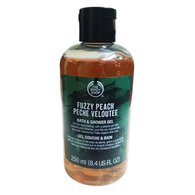 Gel tắm Fuzzy Peach Peche Veloutee The Body Shop 250ml
