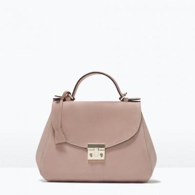 Túi xách City Bag màu hồng - Anh
