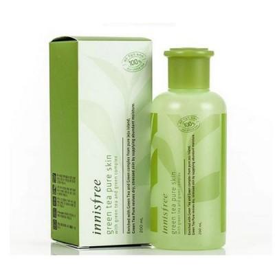 Nước hoa hồng trà xanh Green Tea Pure Skin Innisfree 200ml - Hàn Quốc