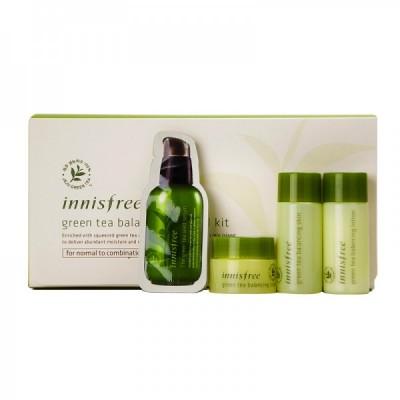 Bộ dưỡng mini INNISFREE Green Tea Balancing Special Kit - Hàn Quốc