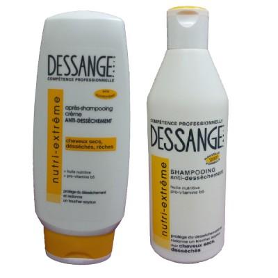 Bộ Dầu gội và xả cao cấp DESSANGE cho tóc suôn mượt - Pháp