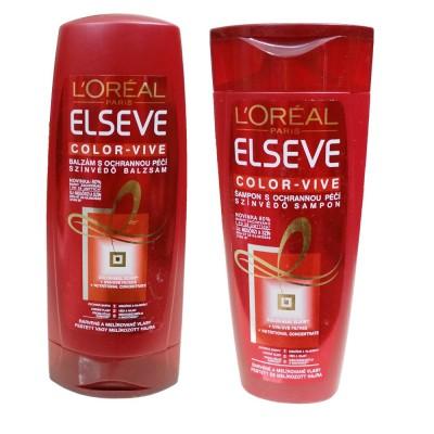 Dầu gội và xả L'oreal Elseve dành cho tóc nhuộm 250ml