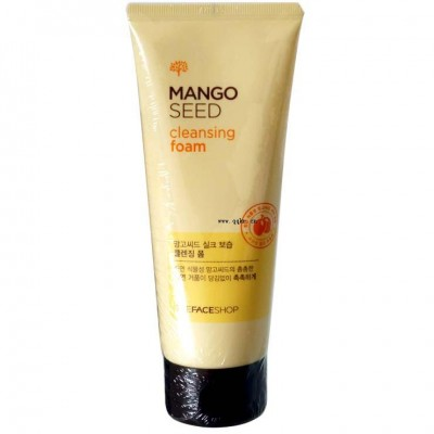 Sữa rửa mặt từ xoài Mango Seed Cleansing Foam The Face Shop