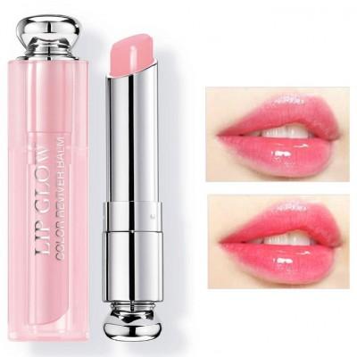 Son Dưỡng Dior Addict Lip Glow 001 Pink Màu Hồng Trong Veo