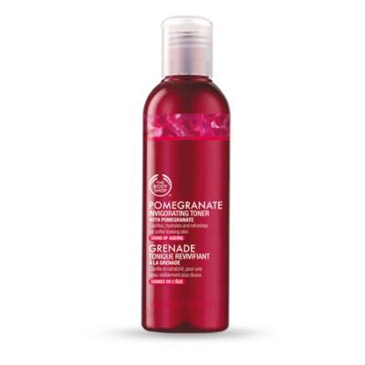 Nước hoa hồng POMEGRANATE INVIGORATING TONER The Body Shop 200ml - Anh