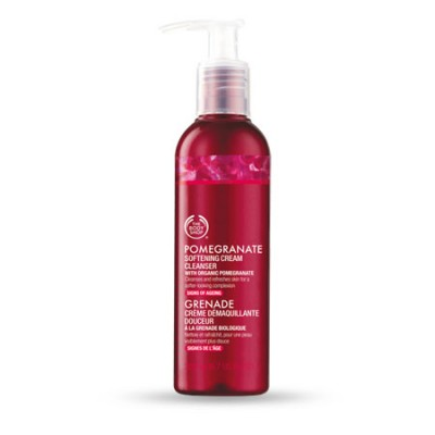 Tẩy trang POMEGRANATE SOFTENING CREAM CLEANSER The Body Shop 200ml - Anh