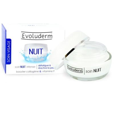 Kem dưỡng trắng da ban đêm Evoluderm Cream Soir Nuit Intense 50ml - Pháp