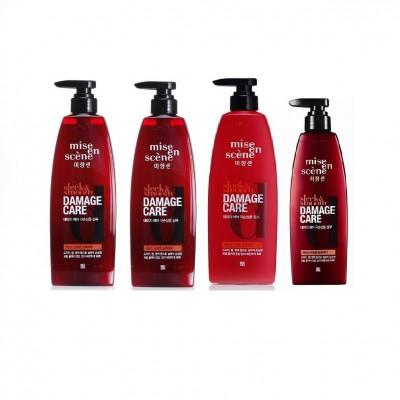 Bộ 4 chai Gội xả chăm sóc tóc hư tổn Mise En Scene Damage Care 780ml - Hàn Quốc