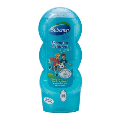 SỮA TẮM GỘI BUBCHEN SHAMPOO & SHOWER SPORT'N FUN - 230ML