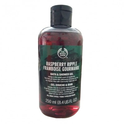 Gel tắm quả mâm xôi Raspberry Ripple Framboise Gourmande The Body Shop 250ml - Anh