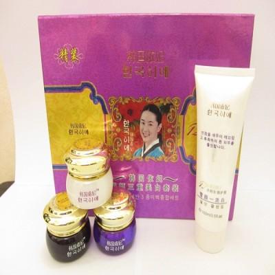 Bộ mỹ phẩm trắng da, đặc trị nám, tàn nhang DECHANGKUM TÍM (4in1) (A041) - Hàn Quốc