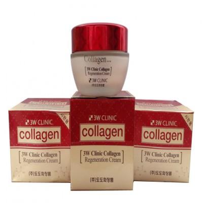 Kem dưỡng trắng da 3W Clinic Collagen - Hàn Quốc