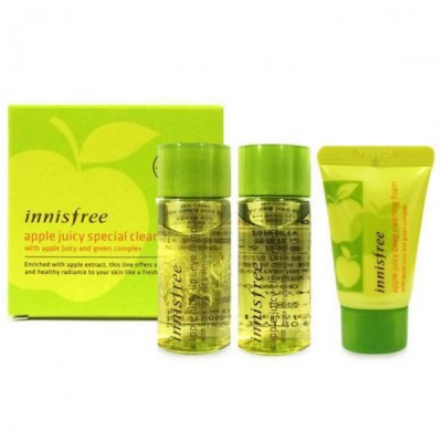 Bộ tẩy trang táo Apple Juicy Special Cleansing Kit Innisfree