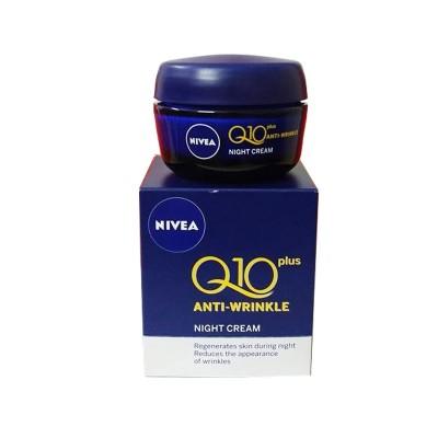 Kem dưỡng da chống nhăn Nivea đêm Q10 - Đức