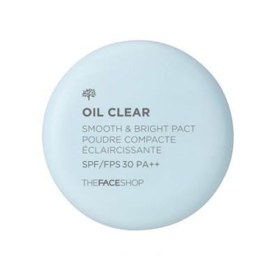 Phấn phủ kiểm dầu Oil SMOOTH & BRIGHT The Face Shop SPF/FPS30 PA++ 9g - Hàn Quốc