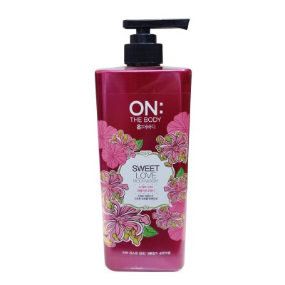 Sữa tắm On The Body Sweet Love 900ml  - Hàn Quốc