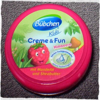 Kem dưỡng da cho trẻ em Bubchen creme & fun