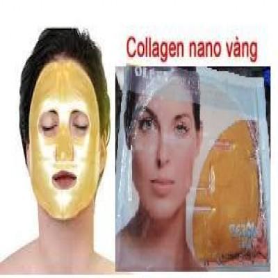 mặt nạ trắng da Oleva Fresh Collagen Nano 24k - Pháp